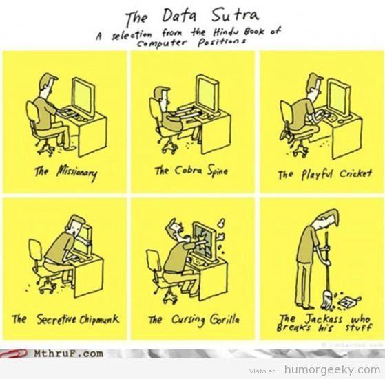 El DataSutra... #humorTIC #informatica