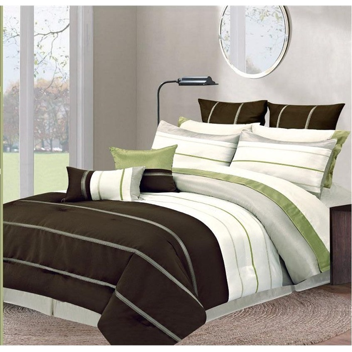 17 Best Images About Bedroom Brown Green On Pinterest