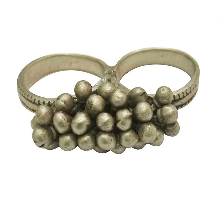 Antique Silver Vintage Tribal Look Old Silver Women's Ethnic Ring For GIFT #Handmade