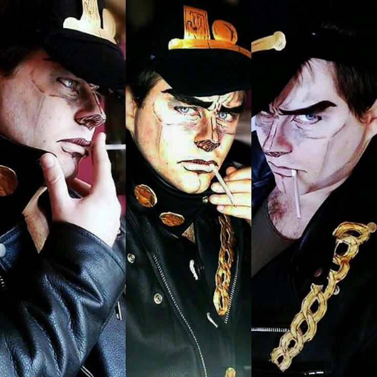 Jotaro Kujo 2 Makeupclothing : By me Only colors are fixed #jotarokujo…