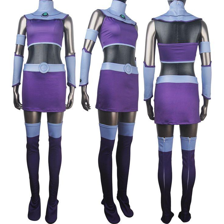 Women girls DC Comics superhero alien Starfire Teen Titans Go! outfit cosplay halloween costume Princess Koriand'r suit xmas birthday gift toys