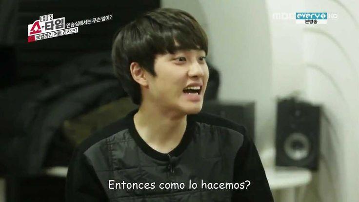 [SUB ESPAÑOL] 1401123 EXO Showtime EP 9 2/4