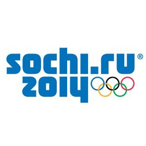 Official logo for the 2014 Sochi winter Olympic games