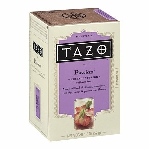 Tazo Caffeine Free Herbal Infusion, Passion - so good!