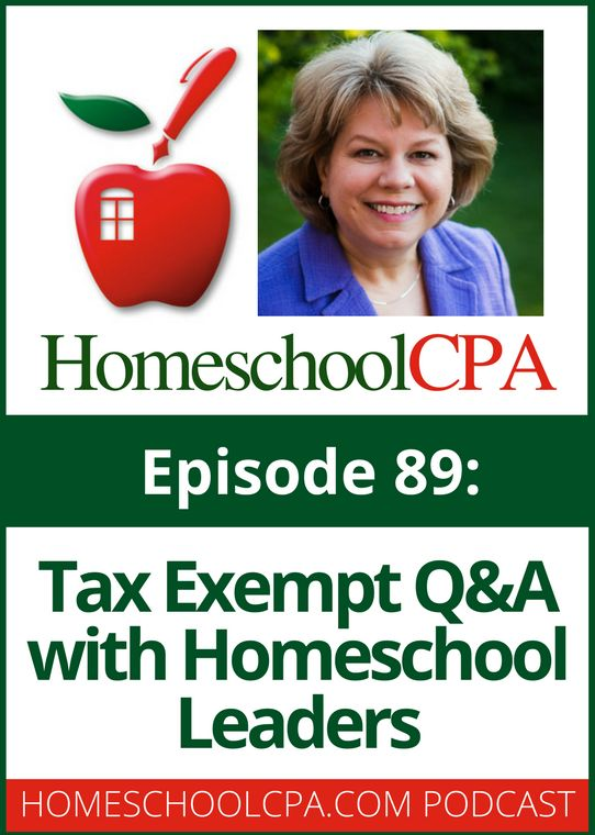 Tax Exempt Q&A with Homeschool Leaders