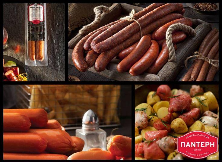 #TRADITIONAL Ίσως, η best seller σειρά του ΠΑΝΤΕΡΗ!  Μια ολοκληρωμένη σειρά από παραδοσιακά ελληνικά αλλαντικά. Λουκάνικα χωριάτικα, τα μερακλίδικα! Με πράσο στη Θεσσαλία, με κύμινο στη Μακεδονία, με πορτοκάλι στην Πελοπόννησο, με θρούμπι στη Μύκονο, με ξίδι και μπαχαρικά στην Κρήτη.  Λουκάνικα βραστά, τα ανάλαφρα! Λουκάνικα τύπου Φρανκφούρτης, λουκάνικα Πεπερόνι, λουκάνικα για Hot Dog, αλλά και λουκάνικα γαλοπούλας και κοτόπουλου για κάτι ακόμα πιο ανάλαφρο.  #Εκλεκτά_Αλλαντικά_Παντέρη