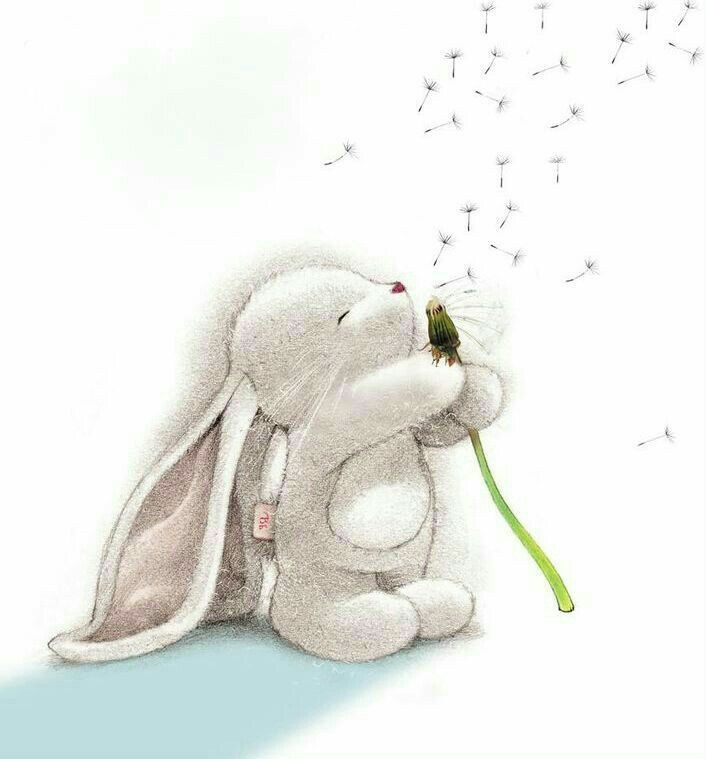 Картинка скучающий заяц