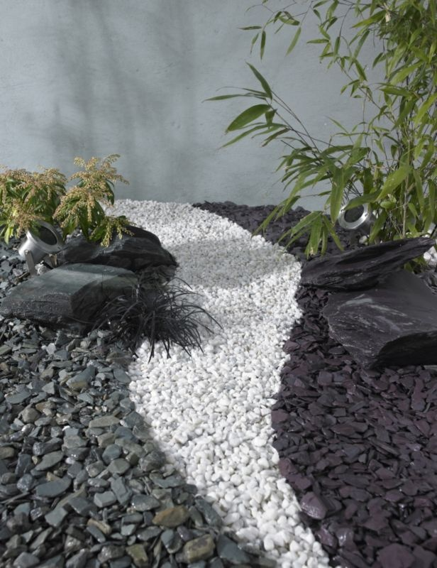 White spar decorative stone 0000003837443 scenery for White pebbles for landscaping