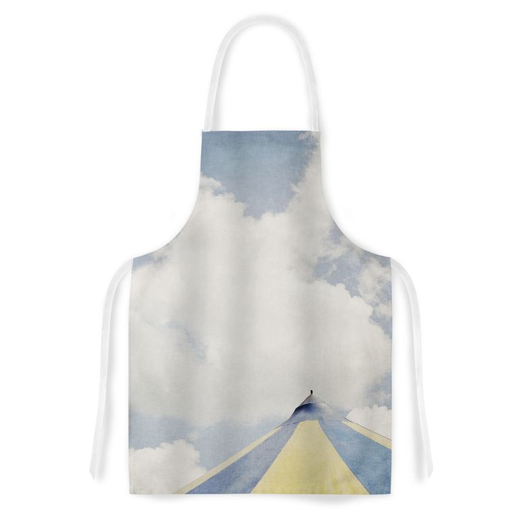Kess InHouse Susannah Tucker Carnival Tent Sky Clouds Artistic Apron