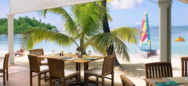 Curtain Bluff sits between two sandy beaches along a peninsula on Antigua's southern shore, where it overlooks one of the finest panoramas in the Caribbean. http://www.abercrombiekent.co.uk/antigua/curtain-bluff.cfm