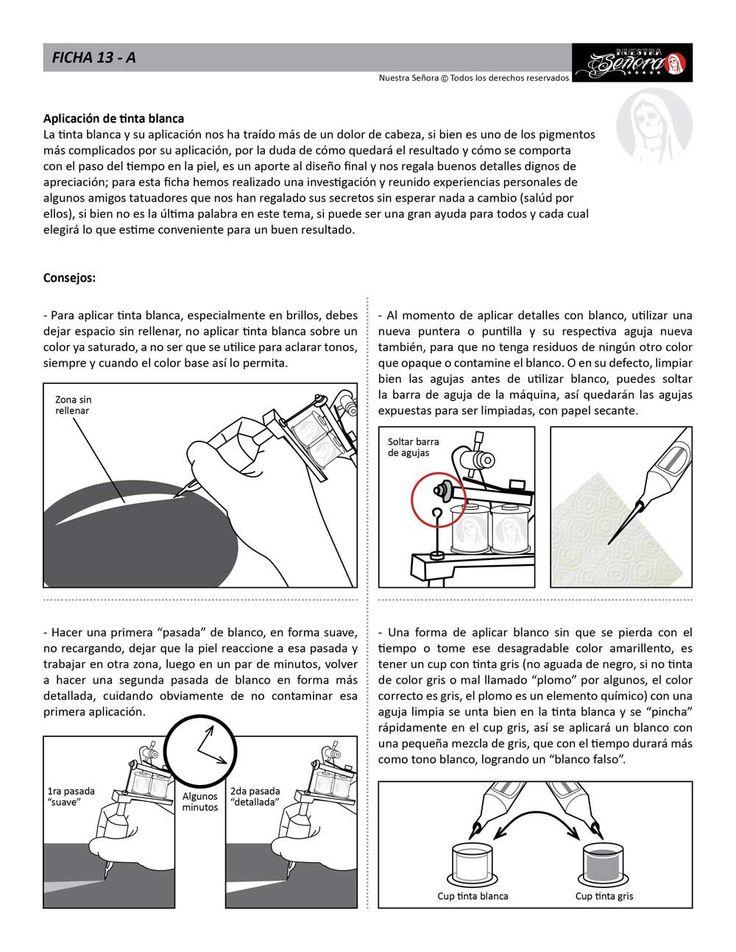 Ficha 13A / Tinta blanca 01 - Caos Tattoo, Estudio de Tatuajes en Santiago Chile, Tatuadores Profesionales