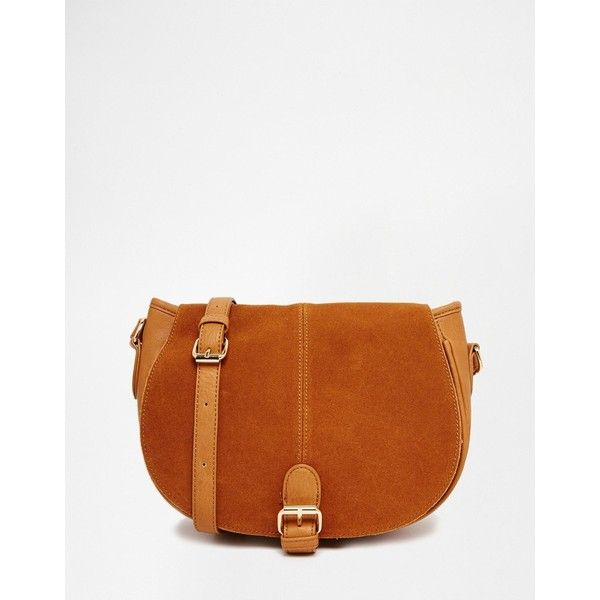 Oasis Western Saddle Bag (1,075 MXN) ❤ liked on Polyvore featuring bags…