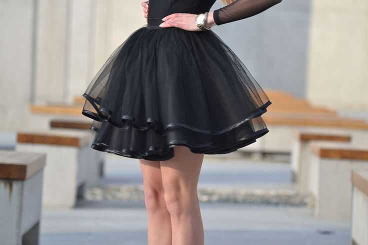 Efektowna tiulowa spódnica sp42 r. S-L w Ivon-sklep na DaWanda.com