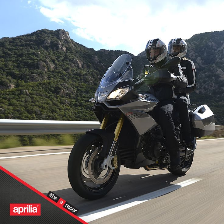 The ideal trip is fast and safe.  #aprilia #bearacer