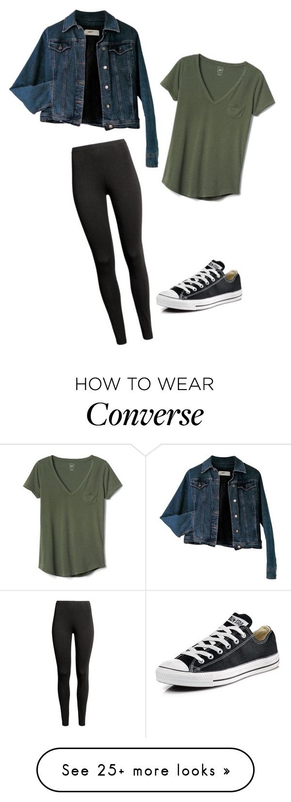 """""""Going to school when sick"""" by dancer0202 on Polyvore featuring Moschino, Converse and Gap"""