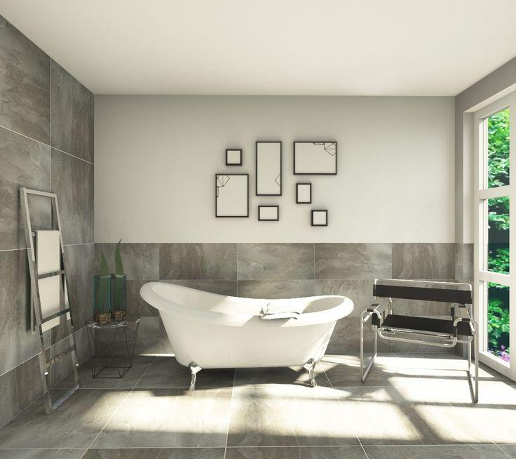 badezimmer in steinoptik. Black Bedroom Furniture Sets. Home Design Ideas