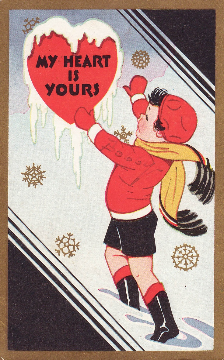 My Heart Is Yours Valentine Card