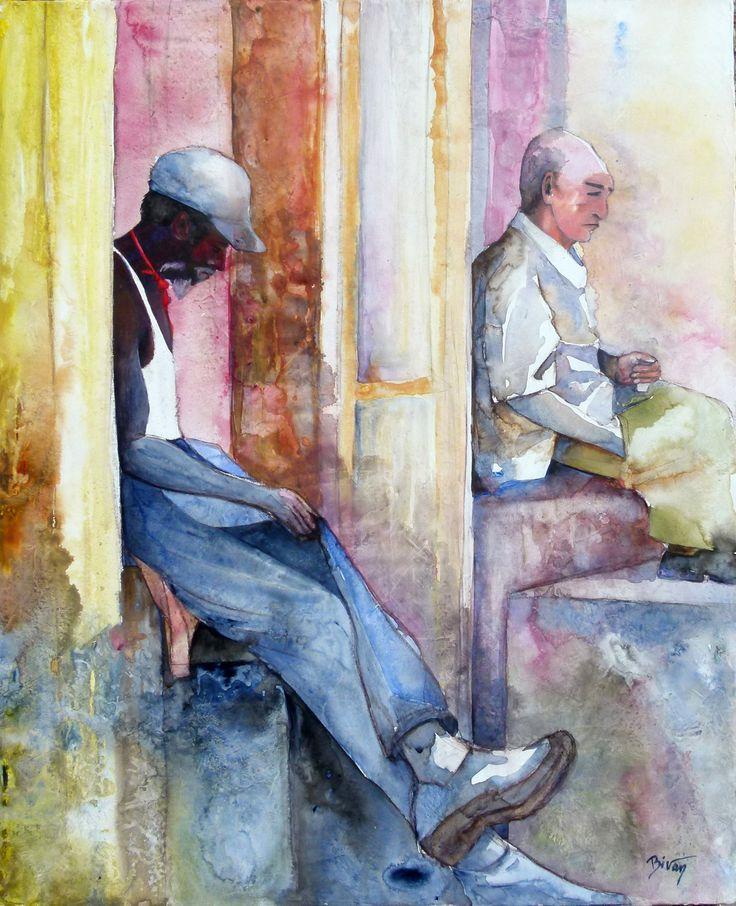 Merci de voter sur rankart si vous aimez Cuba - La Havane - 15h by Brigitte Vanwynsberghe