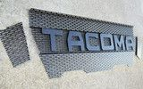 2005-2011 Toyota Tacoma Raptor Style Mesh and Lettering