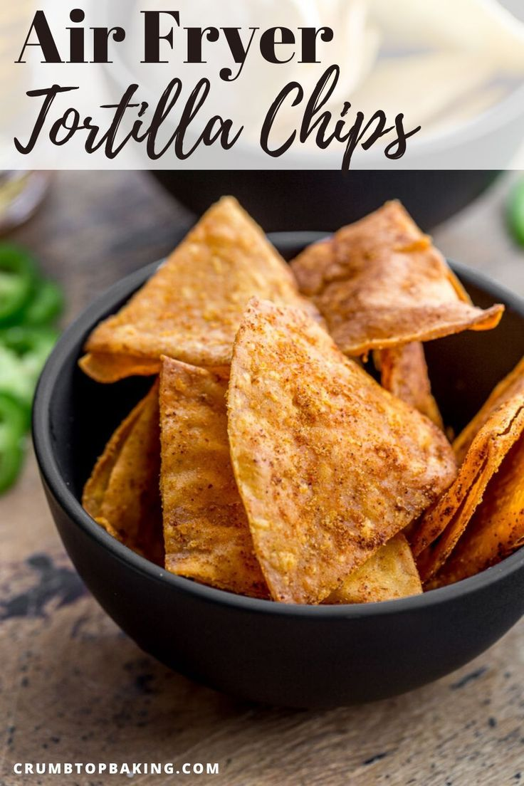 How to Make Air Fryer Tortilla Chips (with 5 Flavour