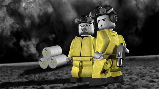 LEGO Breaking Bad Video Game by Brian Anderson | Inspiration Grid | Design Inspiration
