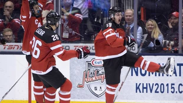 #Breaking: Canada defeats Slovakia 5-1 to advance to WJC final against Russia http://trib.al/Anjf8ZX