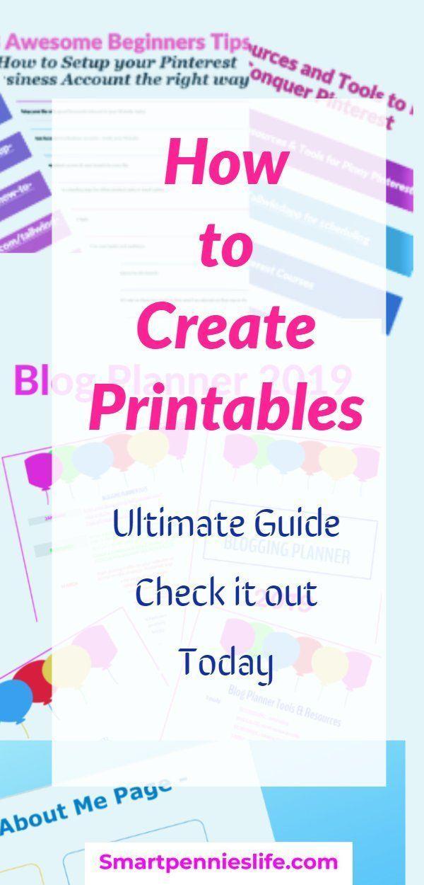 Wenn Sie wissen möchten, wie Sie Ihre erste Druckvorlage erstellen, lesen Sie …   – Diy projects