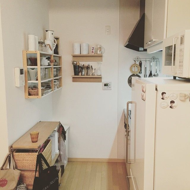 muji kitchen interior - Google 검색  다용도실  Pinterest  작은 부엌 ...
