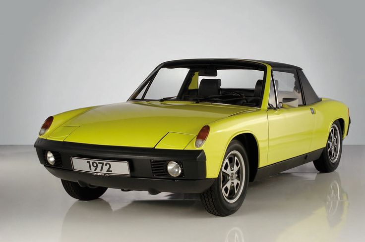 1972 Porsche 914 when we got married my wife owned on, it broke down a lot, but was fun to drive.