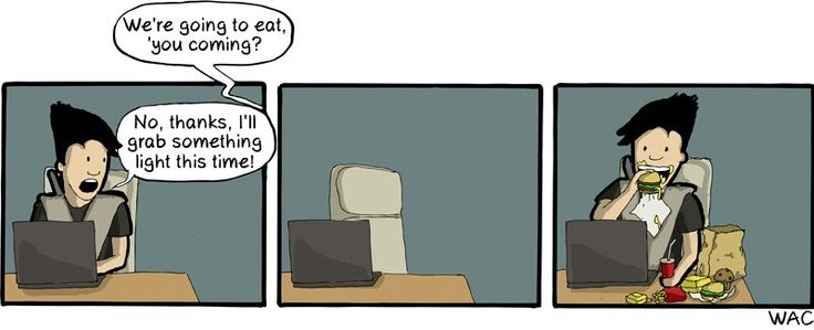 CommitStrip, Hungry?