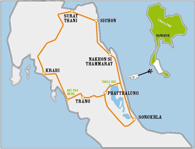 Der Thale Noi Loop #thailand #roadtrip  Folge 1: Krabi - Trang