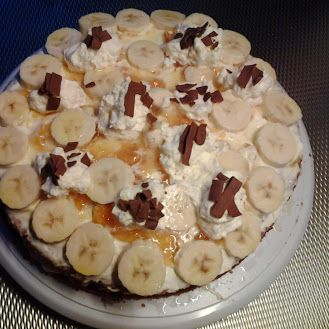 bananen taart