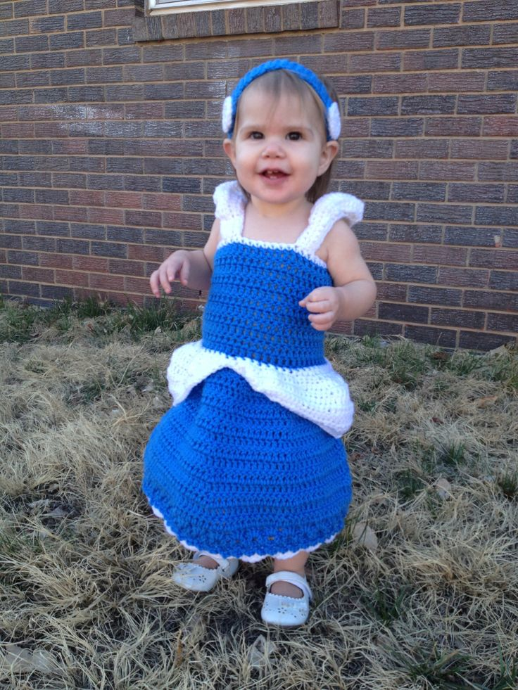 crochet disney princess costume - Google Search