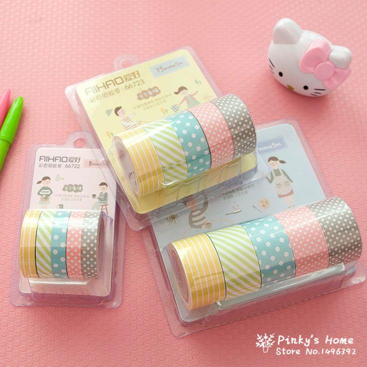 Best 25 washi tape set ideas on pinterest cool for Bande adhesive decorative