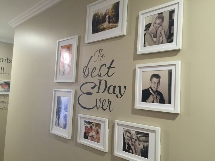 Wedding wall love