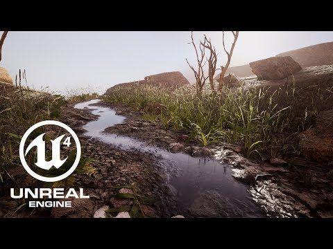 Tutorial: Free UE4 Displacement Blending Materials - YouTube