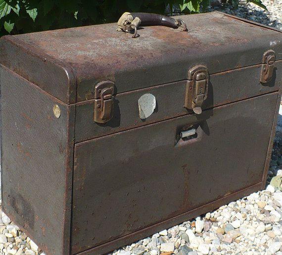 Vintage Kennedy Kits Tool Chest Machinist Tool Box Kennedy