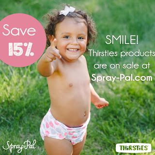 If you're looking to stock up on Thirsties cloth diapers, look no further! We have all Thirsties products 15% off for a limited time! Get started with cloth diapers the EASY way!
