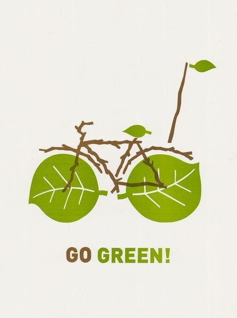 Eco-friendly transport.