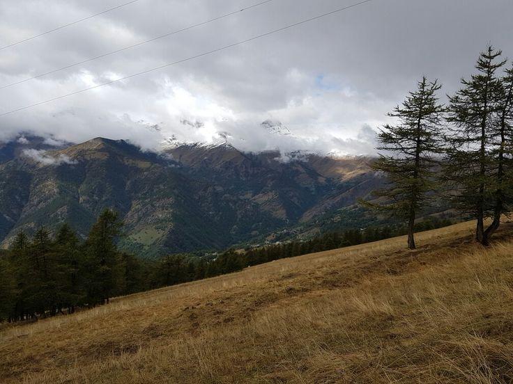 Dal Colle di Sampeyre. Prima neve settembre 2016. @margheritabrunoph.