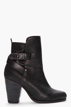 RAG  amp  BONE black Kinsey Boots   boots  black  shoes