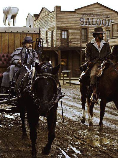 django unchained the reality of Critics have carped that quentin tarantino's django unchained is outlandish  history, but two new books show that, in fact, mississippi was even.
