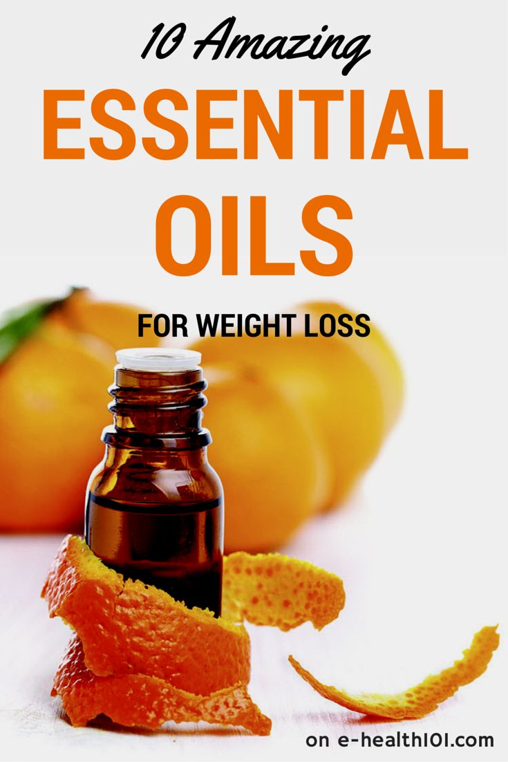 10 Amazing Essential Oils For Weight Loss - If you're struggling to lose weight try to incorporate some of these essential oils into your weight-loss regimen.
