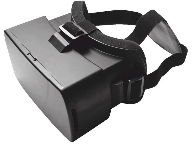 QTREK VR Bril Plastic Zwart