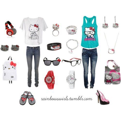 Hello Kitty outfits idea