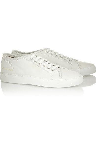 COMMON PROJECTS - TOURNAMENT LEATER SNEAKER - £227.50 (net-a-porter.com)