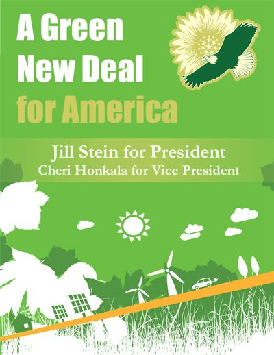 Jill Stein made huge strides in bringing awareness of Green Living during this past election year. Things can only get better ...