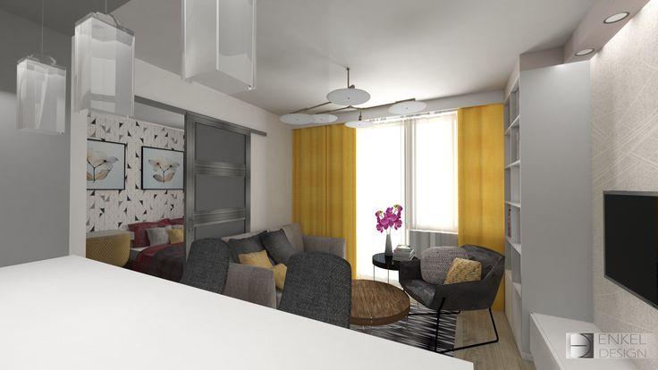 Projekt mieszkania w Rzeszowie na os. 1000-lecia