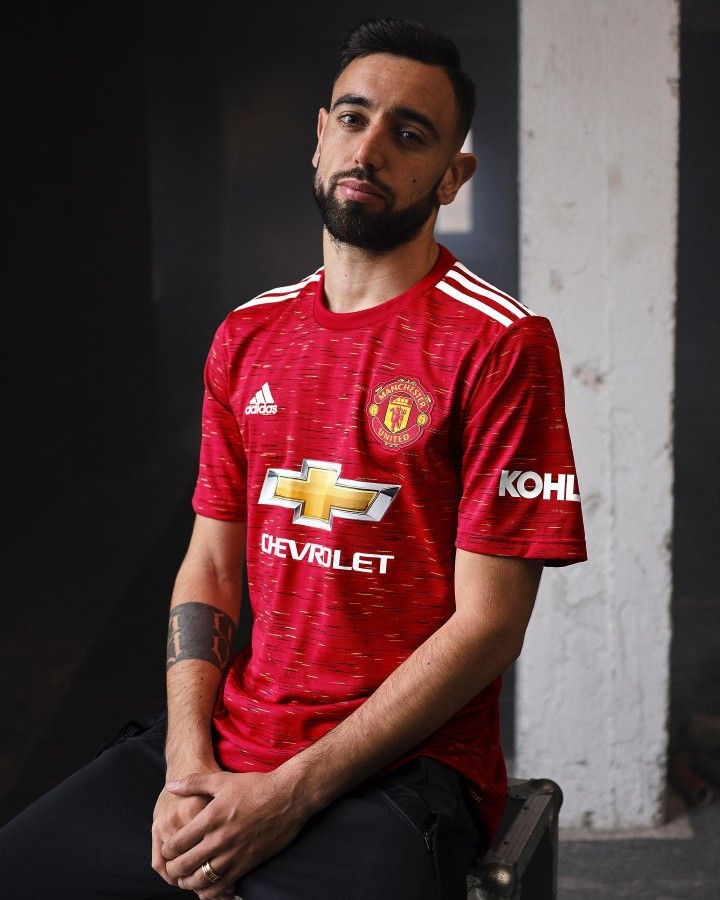 Bruno Fernandes New Kit Reveal 2020 21 Trong 2020 Bong đa