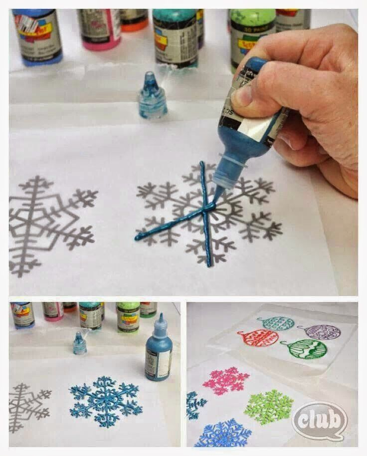 Inspired by Pinterest: Frozen Snow Ideas